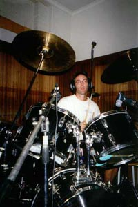 Dave C on drums